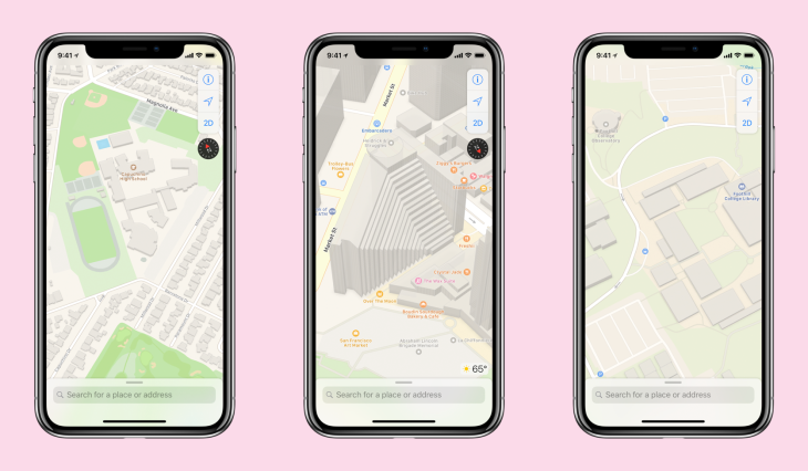 Apple redesigned Maps