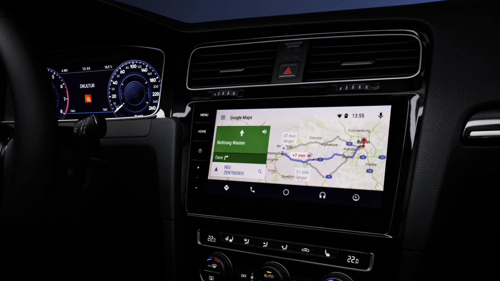 google maps car built-in